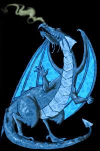 Chibi, prince dragon 4_bleu