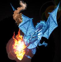 MorMoaLnoeud, Roi Dragon 5_bleu