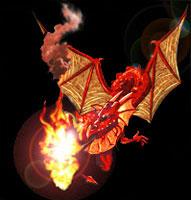 Andúnië, Roi dragon 5_rouge